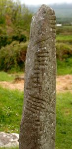 Ogham Standing Stone